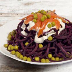 spaghetti_viola_panna e salmone